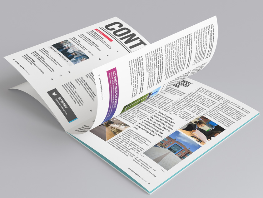 Synergy Magazine Design